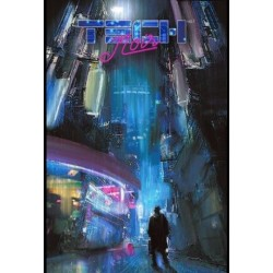 Technoir Vol. 1 The Heart of Darkness Issue 1 Fade to Black