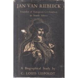 Jan van Riebeeck: A Biographical Study