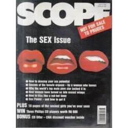 Scope Magazine July 12, 1991 Vol. 26 No 14