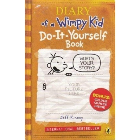 Kinney jeff the diary of a wimpy kid doityourself book the diary of a wimpy kid do it yourself book solutioingenieria Choice Image