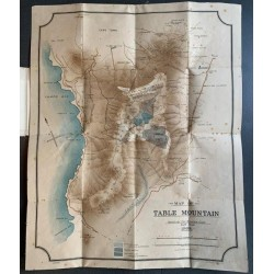 Map of Table Mountain - Issued by the Mountain Club, Cape Town, 1908