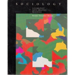 Sociology, A Core Text With Adapted Readings