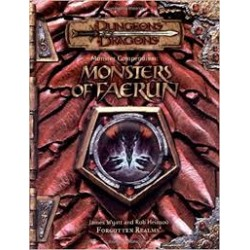 Dungeon & Dragons - Monster Compendium: Monsters Of Faerun