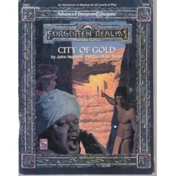 Advanced Dungeons & Dragons: Forgotten Realms FMQ1 - City Of Gold