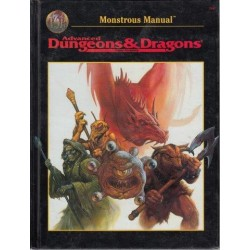 Advanced Dungeons & Dragons: Monstrous Manual (2nd Edition)