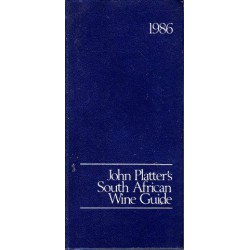 John Platter's South African Wine Guide 1986