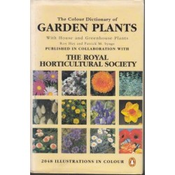 The Colour Dictionary Of Garden Plants, With House And Greenhouse Plants