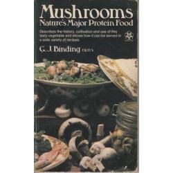 Mushrooms. Nature's Major Protein Food