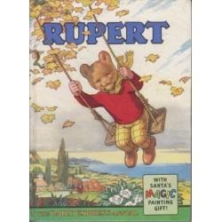 Rupert With Santa's Magic Painting Gift