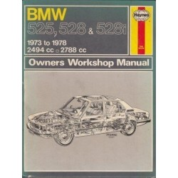 BMW 525, 528 & 528i Owners Workshop Manual