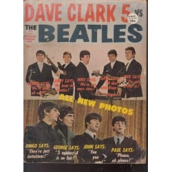 Popular Annual Vol 1 No 1 1964 Dave Clark 5 Vs The Beatles