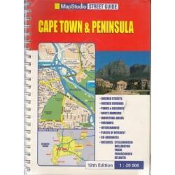 Map Studio Cape Town & Peninsula Street Guide