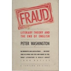 Fraud. Literary Theory and the End of  English