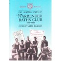 One Hundred Years of the Warrender Baths Club