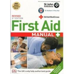 First Aid Manual (Paperback, Revised 9th Ed)