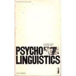 Psycholinguistics: Chomsky and Psychology