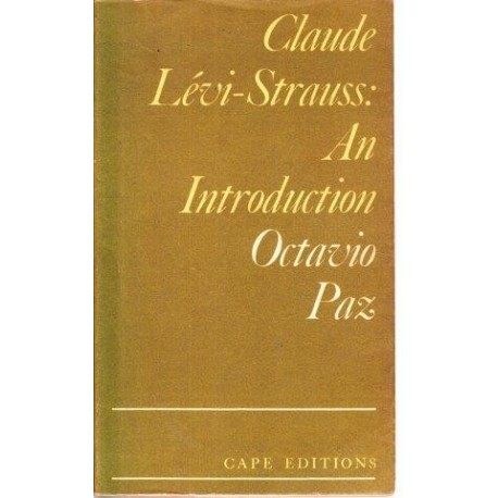 Claude Levi-Strauss: An Introduction
