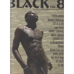 Black: The African Male Nude in Art & Photography, Vol. 8