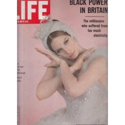 Life Magazine Volume 43, No. 8 Oct 16 1967 Black Power in Britain