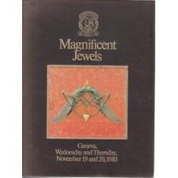 Magnificent Jewels, Geneva, Wednesday & Thursday, November 19 &  20 1980