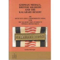 German Medals, British Soldiers and the Kalahari Desert