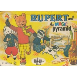 Rupert and the Magic Pyramid (A Pop-Up Book)