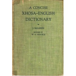 A Concise Xhosa-English Dictionary