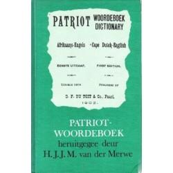 Patriot Woordeboek - Afrikaans/Engels