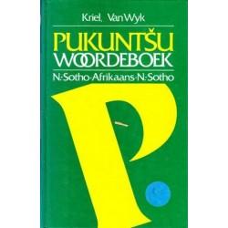 Pukuntsu - Woordeboek, Noord Sotho - Afrikaans, Afrikaans - Noord Sotho