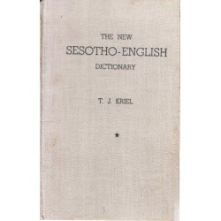 The New Sesotho-English Dictionary