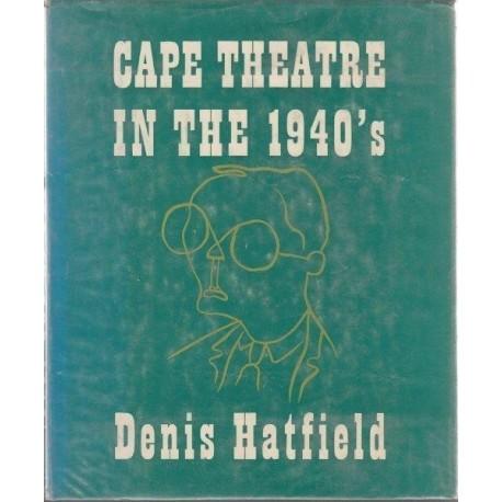 Cape Theatre in the 1940s
