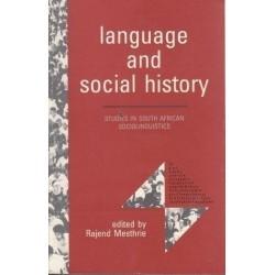 Language And Social History