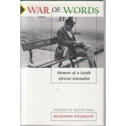 War Of Words: Memoir Of A South African Journalist