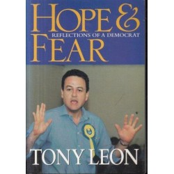 Hope & Fear - Reflections of a Democrat (Signed Copy)