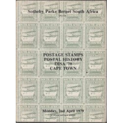 Catalogue of Postage Stamps Disa '79