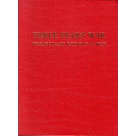 Three Years War (Scripta Africana limited edition 890 of 1000)
