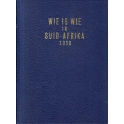 Wie is Wie in Suid-Afrika 1958