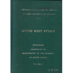 International Court of Justice Request for Advisory Opinion on South West Africa