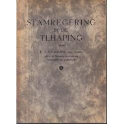 Stamregering by die Tlhaping