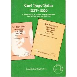 Carl Hugo Hahn. Tagebucher/Diaries 1837 - 1860