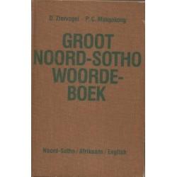 Comprehensive North Sotho Dictionary/Groot Noord-Sotho Woordeboek