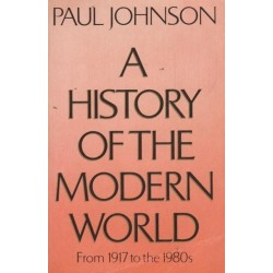 A History of the Modern World: From 1917 to the 1980s