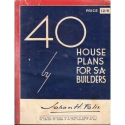 40 House Plans for South African Builders
