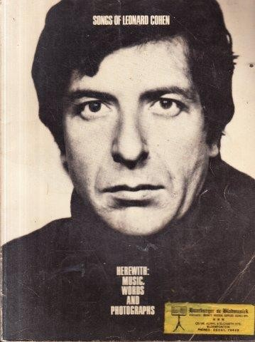 Poetry songs of leonard cohen herewith music words for Leonard cohen music videos