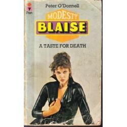 Modesty Blaise - A Taste for Death