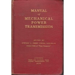 Manual of Mechanical Power Transmission