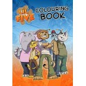 The Lil' Five Colouring Book
