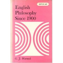 English Philosophy Since 1900