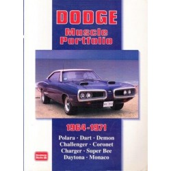 Dodge Muscle Portfolio, 1964-1971 (Brooklands Road Test Books Series)
