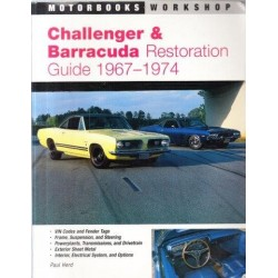 Challenger And Barracuda Restoration Guide, 1967-74